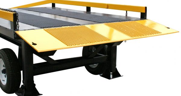 M35000 ramp adjustable support legs