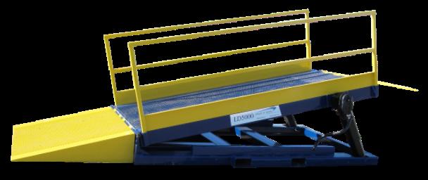 LD5000 Small Equipment Loading Ramp Series