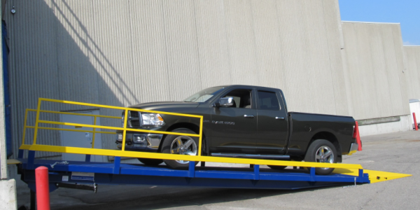 Adapt-A-Ramp GTD Series Ramp with truck on it