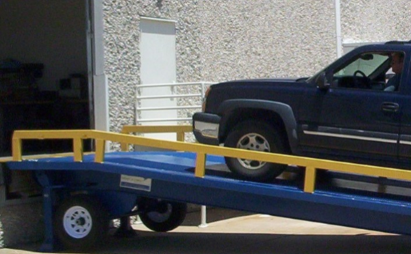 Adapt-A-Ramp GTD Series Ramp with truck