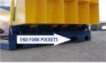 LD 5000 ramp - end fork pockets