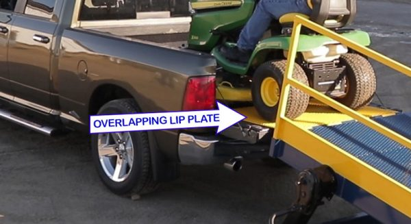 Adapt a Ramp -overlapping LIP PLATE