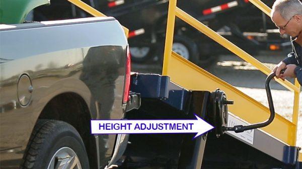 LD500 Height adjustment